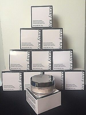 Mary Kay Mineral Powder Foundation - You Choose Shade - Ivory/ Beige