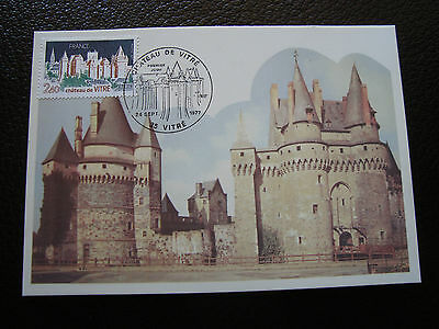 FRANCE - card 1st day 24/9/1977 (chateau de glass) (cy39) french