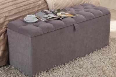 Prime Large Chenille Ottoman Toys Storage Blanket Box Footstool Alphanode Cool Chair Designs And Ideas Alphanodeonline