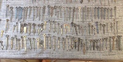 Antique Clock Hands Job Lot Approx 106 Assorted Pairs And  Singles