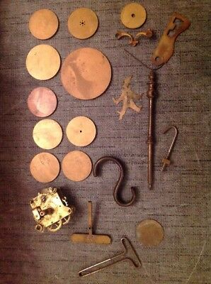 Antique Clock Parts Ex Clockmakers Spare Parts Collection