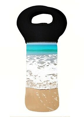 BEACH Wine Bottle Cooler Bag