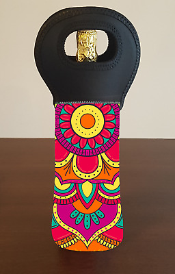 MANDALA Wine Bottle Cooler Bag