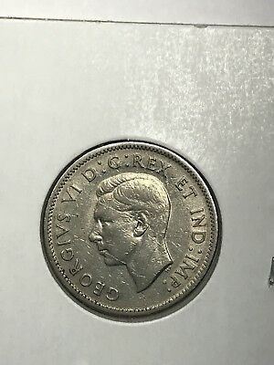 1941 Canada 5-CentS. Collector Coin for Your Set or Collection.