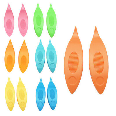 Multicolor plastic Tatting Shutle Tool for Weaving Lace Decoration 6.5 x 2.2 cm