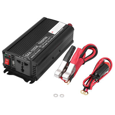 500W/1000W DC 12V to AC 230V Portable Auto Car Power Inverter Charger Converter