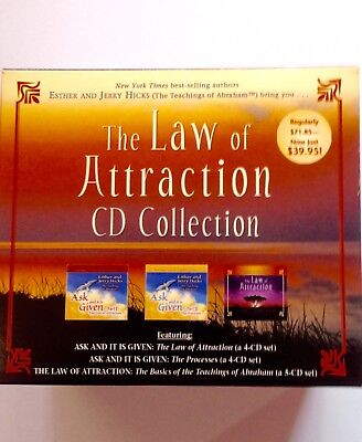 The Law of Attraction (Boxset,13 CDs-Audio,over 10 hrs) Abraham Hicks teachings.