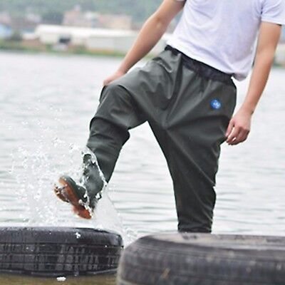Waterproof Fishing Hip Waders Wader Boots Rubber Hunting Car Washing Trousers