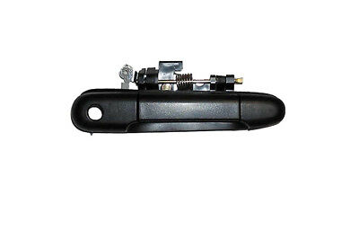 Replacement Outer Front Right Black Door Handle For 92-95 Paseo 91-94 Tercel