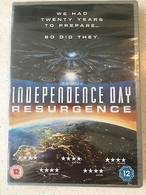Independence Day : Resurgence Dvd - 2016.