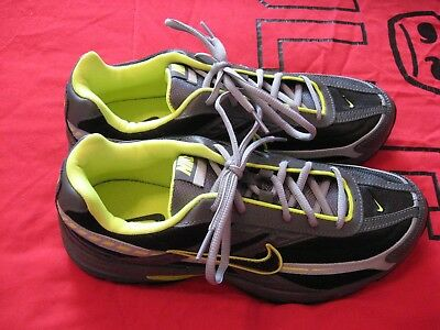 New Nike Initiator Running Shoes Gray Green And Black Size 10 Shoes #1597
