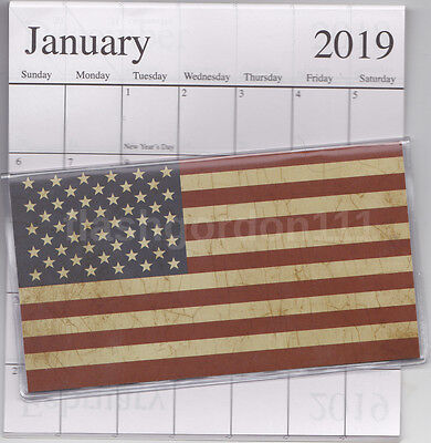 1 ~ 2018-2019 AMERICANA FLAG 2 Two Year Planner 2018-19 Monthly Pocket Calendar