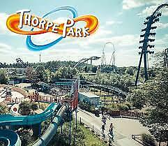 2 for 1 Alton Towers / Thorpe Park Code or Voucher (Theme Park 2for1 Tickets)