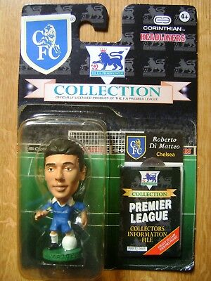 Roberto Di Matteo Chelsea CH21 Corinthian Headliners Blister Pack Good Condition