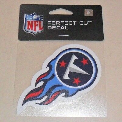 ece7ec1af6fb6 Nfl Tennessee Titans 4 X 4 Die-Cut Decal Officially Licensed Product
