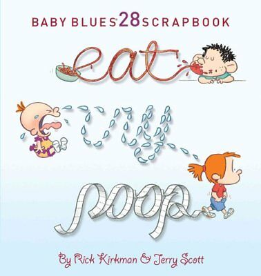 Eat, Cry, Poop by Jerry Scott 9781449414580 (Paperback, 2017)