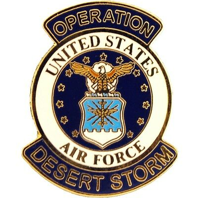 """Operation Desert Storm United States Air Force Hat Pin 1"""""""