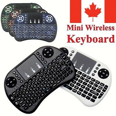 Mini Wireless Keyboard Remote Control Touch Pad for Android TV Box Computer PS4