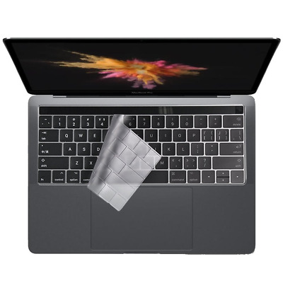 Colel Premium Ultra Thin Clear Keyboard Protector Cover Skin for Newest Macbook