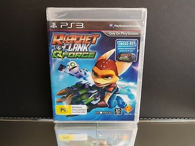 Ratchet and Clank QForce / Ratchet & Clank NEW/SEALED PS3 - PlayStation 3 Game