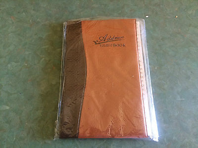 Brown Address Book