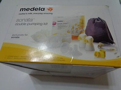 New Sealed Medela Sonata Double Pumping Kit #68053 *Pump not included**Kit only
