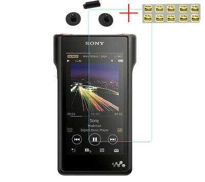 Tempered Glass Screen Protector Film For SONY WM1A WM1Z With Dust Plug