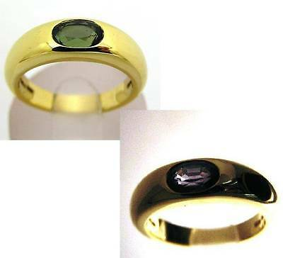 Boodles Certified Natural Alexandrite Ring 18Ct Gold Absolute Rarity