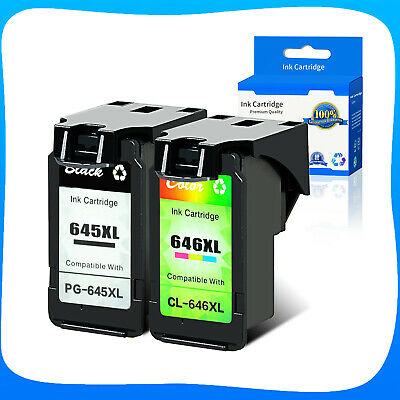 AU STOCK PG645XL CL646XL Ink for Canon MG2560 MG2460 MG3060 MG2965 MG2960 MX496