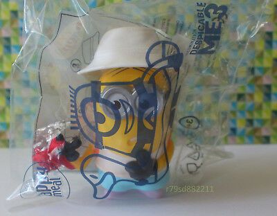 Crab Bite Minion Spielzeug Figur  Happy Meal Juli 2017 England Version Neu & Ovp