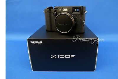 FUJIFILM X100F 24.3MP Digital Camera From Japan Version New - Black or Silver