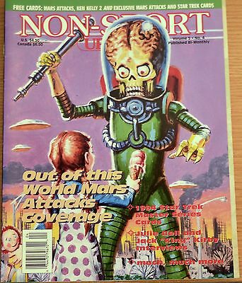Non-Sport Update Magazine Vol. 5 No. 4 Out of this world Mars Attacks Coverage