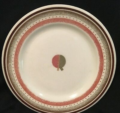 "1930s-1950s BROADWAY LIMITED PENNYSLVANIA RAILROAD 6.5"" Dia Plate Shenango China"