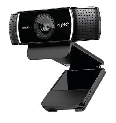 Logitech 1080p Pro Stream Webcam HD Video with Mic 1080p 30 fps FULL HD stream