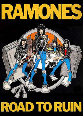 RAMONES POSTER (59x84cm) ROAD TO RUIN PICTURE PRINT NEW ART