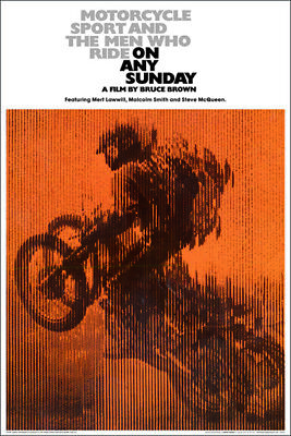 On Any Sunday Movie Score Poster (61X91Cm) Picture Print New Art