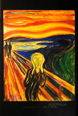 THE SCREAM EDVARD MUNCH 1893 POSTER (61x91cm)  PICTURE PRINT NEW ART