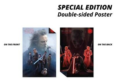 STAR WARS 8 SPECIAL EDITION POSTER (61x91cm) DOUBLE SIDED PICTURE PRINT NEW ART