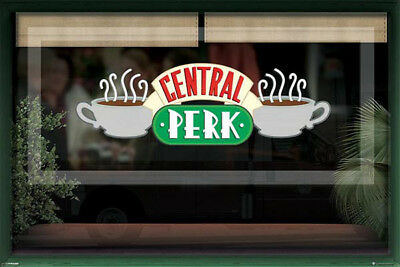 Friends Central Park Café‰ Window POSTER (61x91cm) Picture Print New Art