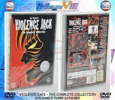 VIOLENCE JACK THE COMPLETE COLLECTION GO NAGAI'S Shin Vision DVD NEW SEALED