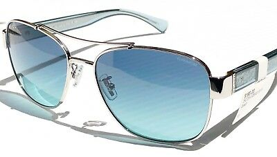 98f3dbb1a8876 ... promo code for new coach aviator squared silver turquoise blue gradient  womens sunglass hc7064 fb47b a49b3