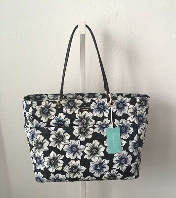 Kate Spade Emerson Place Pauline Quilted Nylon Baby Bag Shoulder/tote Bag ~ Nwt