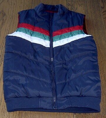 Charlie And Me  Boys Navy Puffer Vest Sz 8