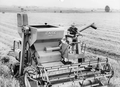 Vintage Case Models 600 And 1000 Combine Black And White Photographs