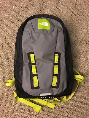 92f9f5daf THE NORTH FACE TNF Base Camp Double Shot Back Pack ILLEST Patch Yellow Grey
