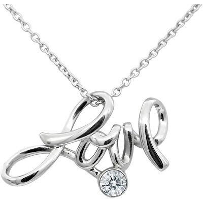 ea750d9e5 BITCH PENDANT BLOCK Letter Necklace with Swarovski crystal By ...