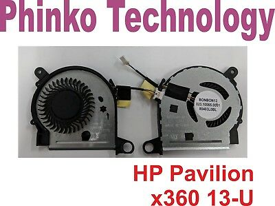 NEW CPU Cooling Fan for HP Pavilion X360 13-U M3-U Series 4 pin connector