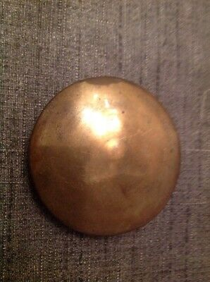 Antique Brass Pendulum Bob 73g 58mm Diameter For Spare Parts