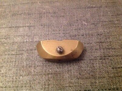 Antique Brass Pendulum Bob 52g 44x18mm  For Spare Parts