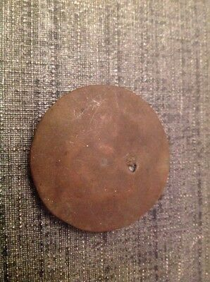Antique Brass Pendulum Bob 23g 42mm Diameter For Spare Parts